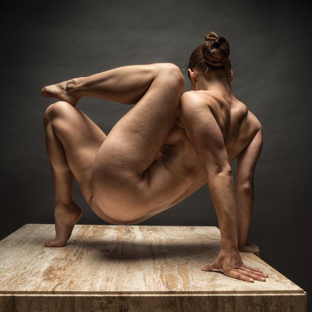 zorro artistic nude photo by photographer rick jolson
