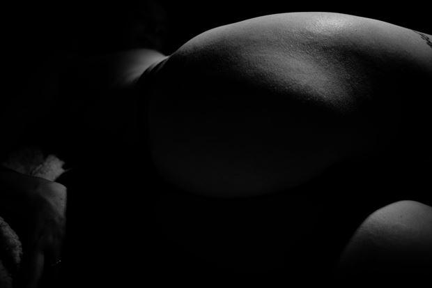 artistic nude photo print by photographer jan karel kok