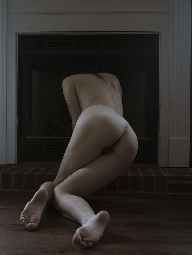 broken legs artistic nude photo print by photographer sirena wren