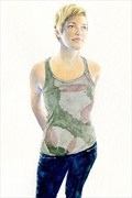 2014, Watercolor