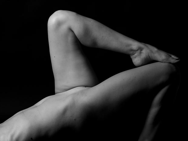 4 is her number artistic nude photo print by photographer thomas branch