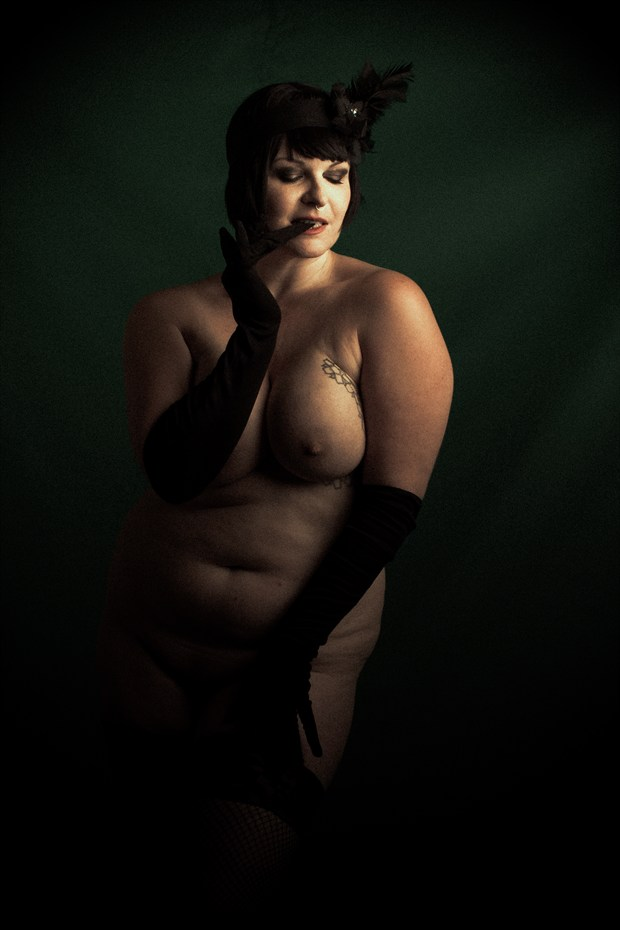 A Fisher Mystery Artistic Nude Photo print by Photographer Frisson Art