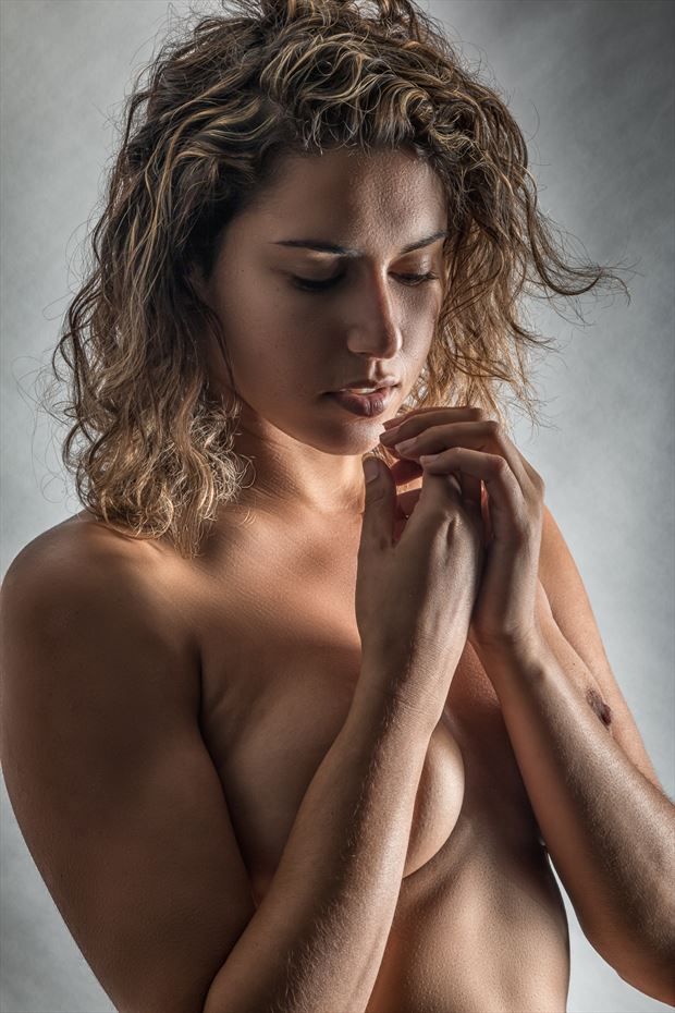 A Quite Moment Artistic Nude Photo print by Photographer rick jolson