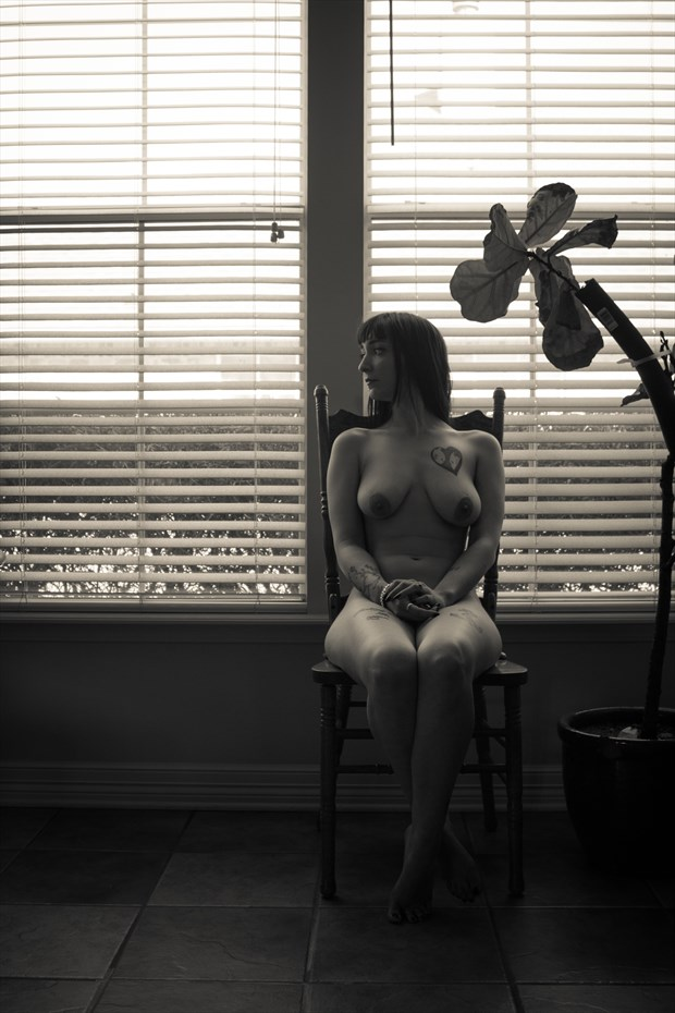 A Sunday Afternoon Artistic Nude Photo print by Photographer Frisson Art