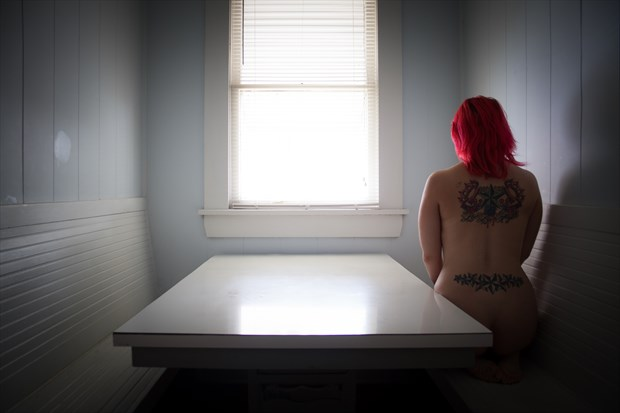 A Table For One Tattoos Photo print by Photographer Frisson Art