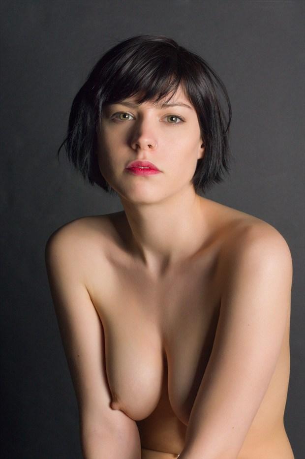 A portrait of Dorrie %232 Artistic Nude Photo print by Photographer Bruce M Walker