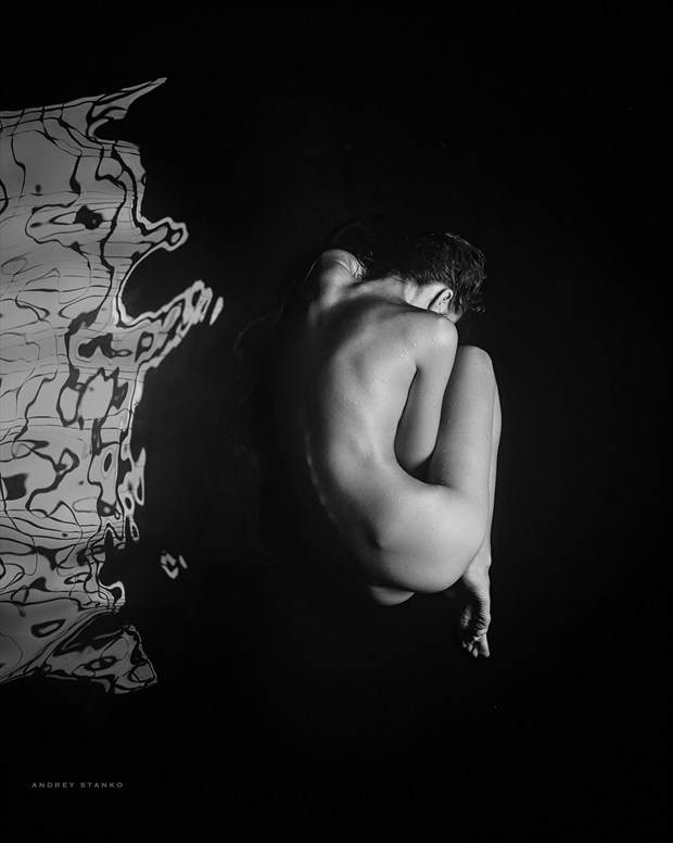 AQUA Artistic Nude Photo print by Photographer Andrey Stanko