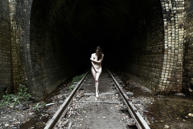 Abandoned Artistic Nude Photo print by Photographer Stephen Wong