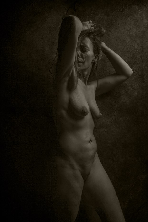Agony Artistic Nude Photo print by Photographer CurvedLight