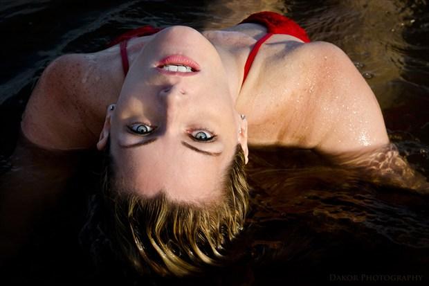 Alisa Bikini Photo print by Photographer Kor