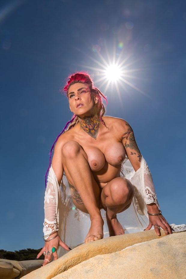 Amazon Artistic Nude Photo print by Photographer Stephen Wong