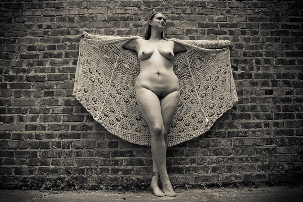 Angel Artistic Nude Photo print by Photographer Frisson Art