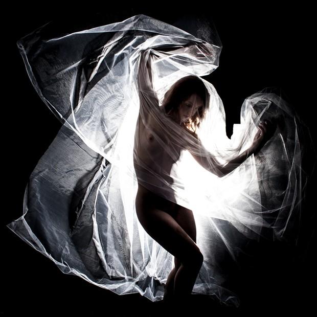 Angel Artistic Nude Photo print by Photographer Jakz