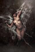 Angel Night Artistic Nude Artwork print by Artist David Bollt