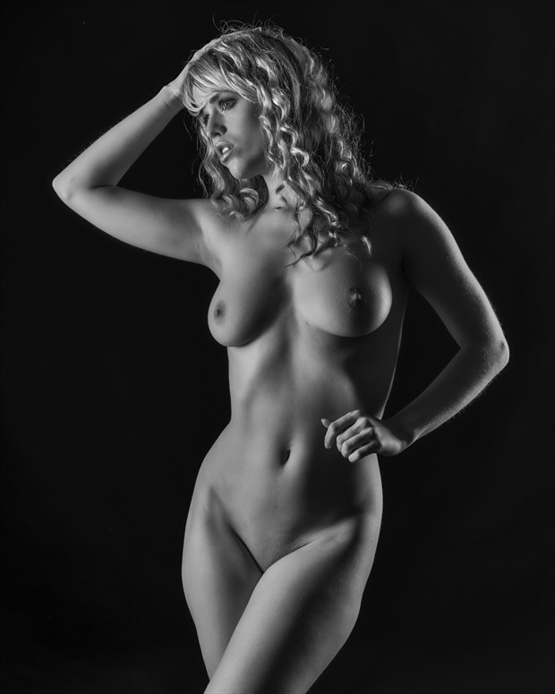 Angel uncovered Artistic Nude Photo print by Photographer John Logan