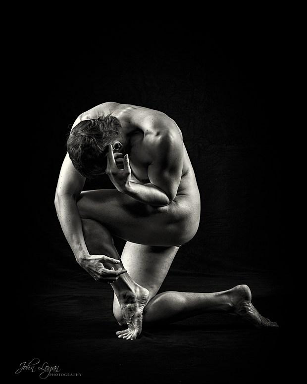 Anguish Artistic Nude Photo print by Photographer John Logan