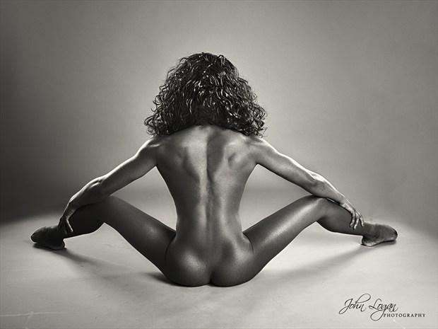 Anna Rose 3 Artistic Nude Photo print by Photographer John Logan