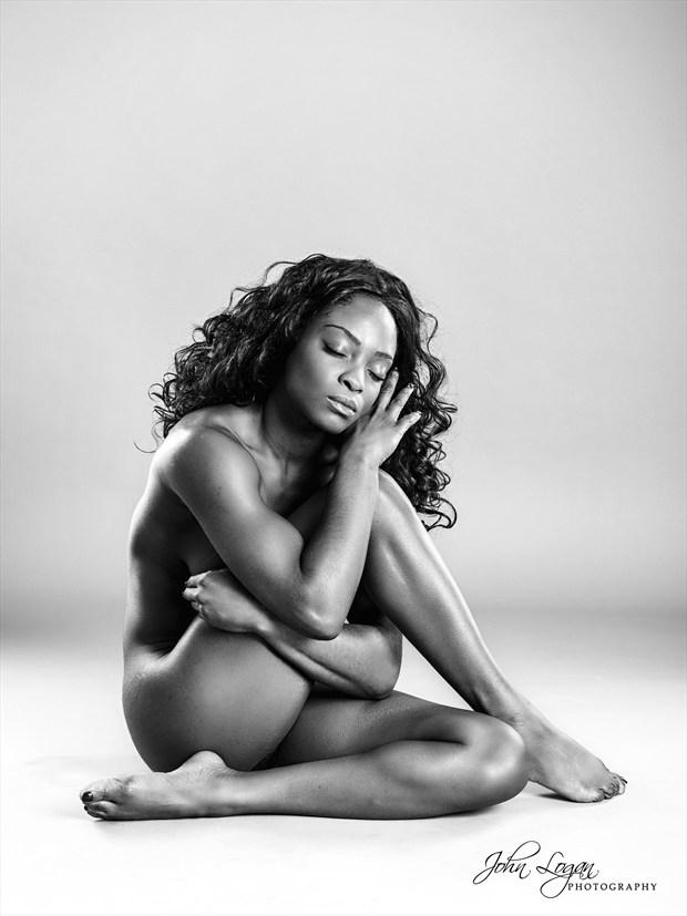 Anna Rose 5 Artistic Nude Photo print by Photographer John Logan