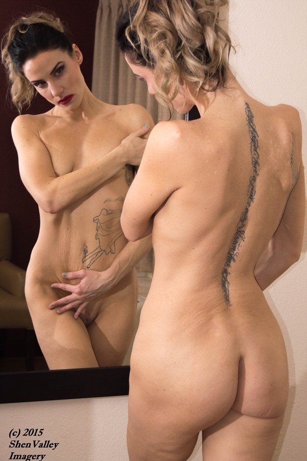 Anne in reflection Artistic Nude Photo print by Photographer ShenValley Imagery