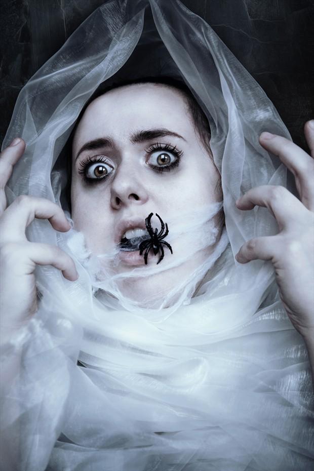 Arachnofobia Studio Lighting Photo print by Photographer Invisiblemartyr