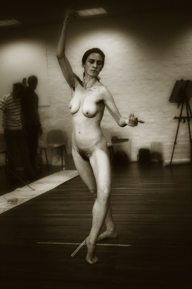 Art Model In Situ 3 Artistic Nude Photo print by Photographer Mark Bigelow