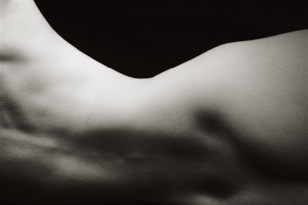 Art model P, Session 1, Number 10 Artistic Nude Photo print by Photographer Mark Bigelow