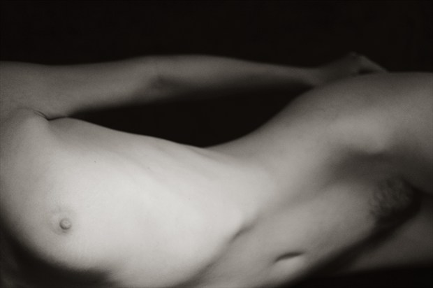 Art model P, Session 1, Number 11 Artistic Nude Photo print by Photographer Mark Bigelow