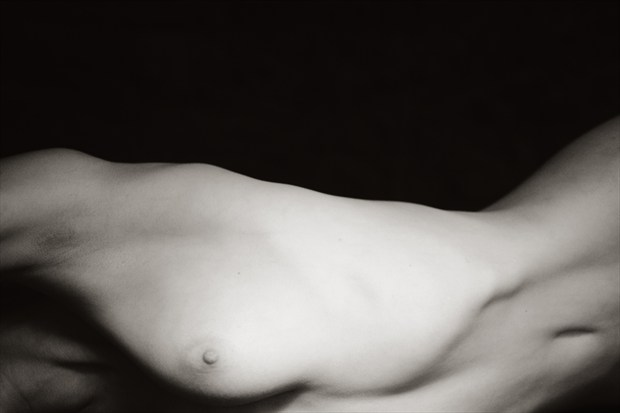 Art model P, Session 1, Number 12 Artistic Nude Photo print by Photographer Mark Bigelow