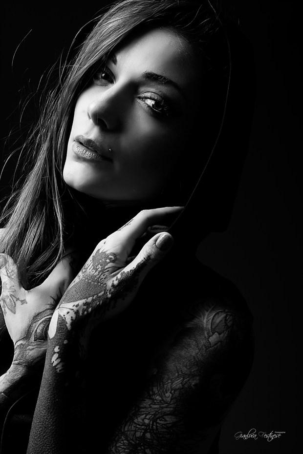 Art of black Glamour Photo print by Artist Gianluca Festinese