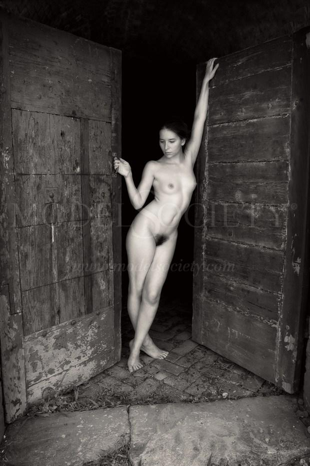 Artistic Nude Architectural Artwork print by Artist The Abandoned Dream