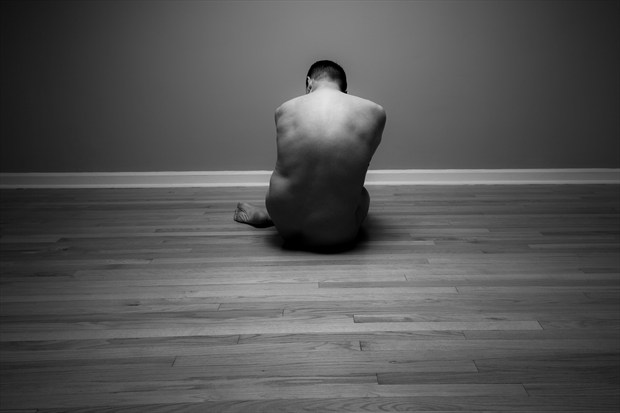 Artistic Nude Chiaroscuro Photo print by Model Rhynelmrk