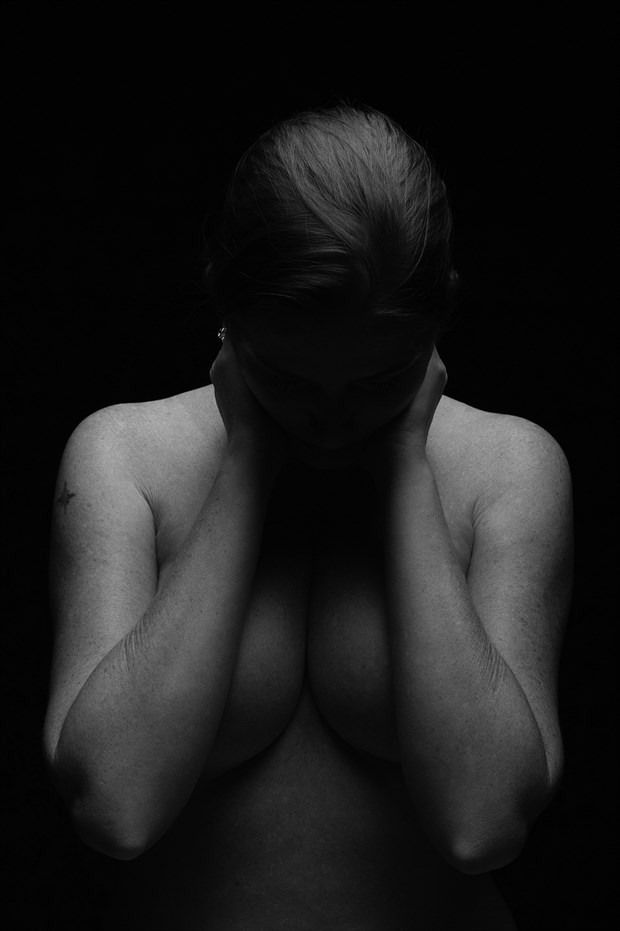 Artistic Nude Emotional Photo print by Photographer TheBody.Photography