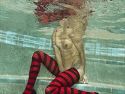 Artistic Nude Fashion Photo print by Model Chelsea Jo