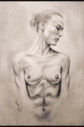 Artistic Nude Figure Study Artwork print by Model Chelsea Jo