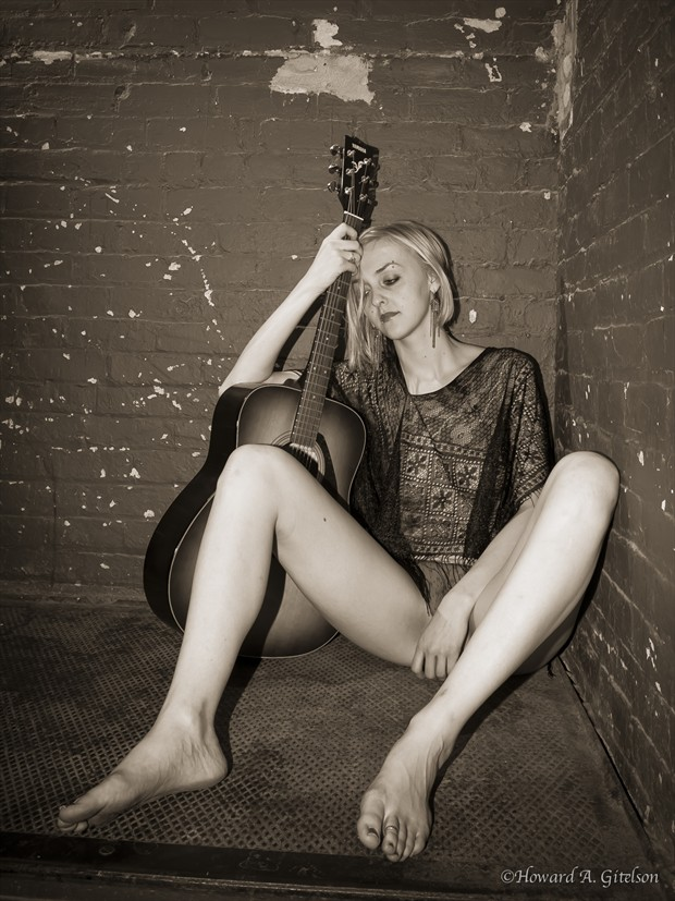 Artistic Nude Implied Nude Photo print by Photographer HGitel