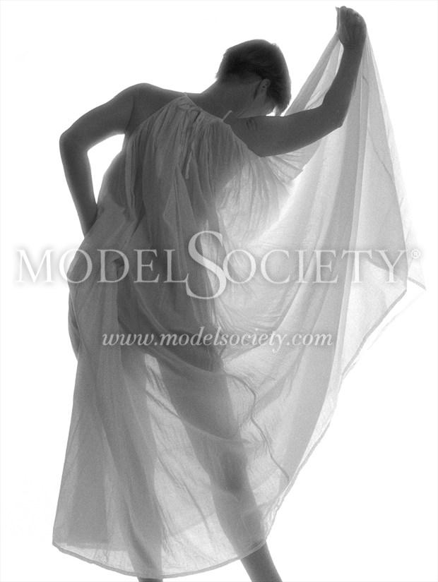 Artistic Nude Lingerie Photo print by Photographer ewe