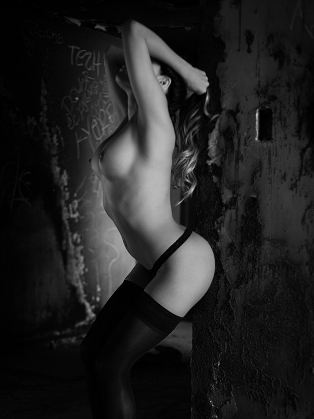 Artistic Nude Lingerie Photo print by Photographer urielg