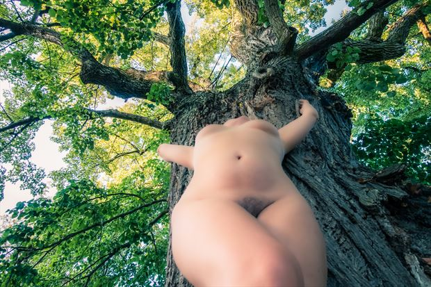 Artistic Nude Nature Photo print by Photographer BenGunn