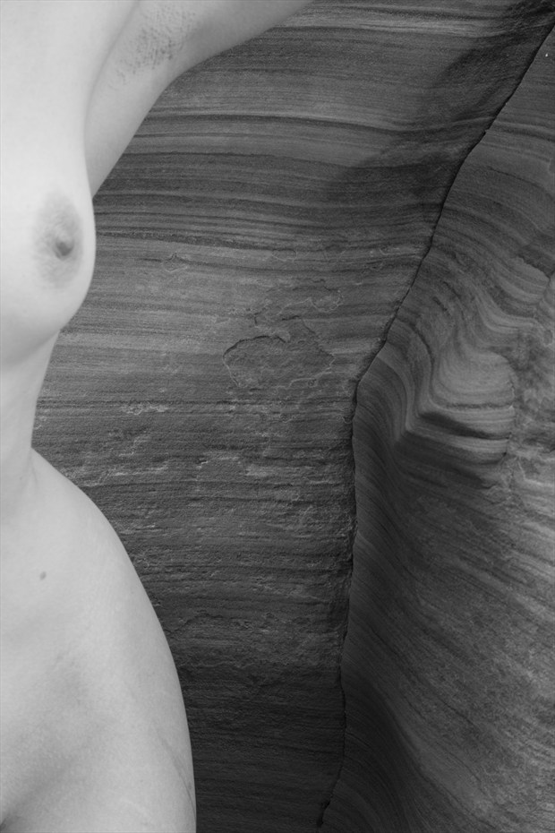 Artistic Nude Nature Photo print by Photographer ClinePhoto