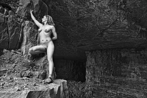 Artistic Nude Nature Photo print by Photographer CurvedLight