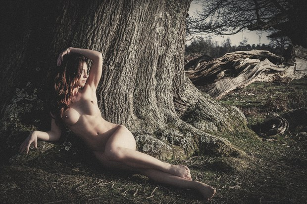 Artistic Nude Nature Photo print by Photographer DJR Images