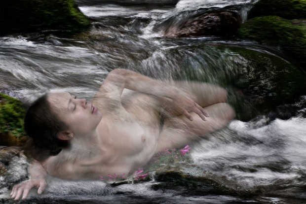 Artistic Nude Nature Photo print by Photographer Gene Newell