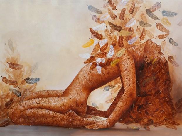 Artistic Nude Sensual Artwork print by Artist Ali