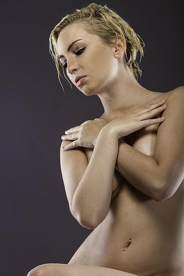 Artistic Nude Studio Lighting Photo print by Photographer ResolutionOneImaging