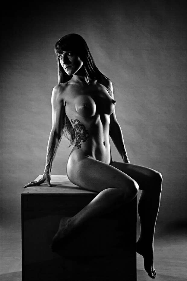 Artistic Nude Studio Lighting Photo print by Photographer Thom Peters Photog