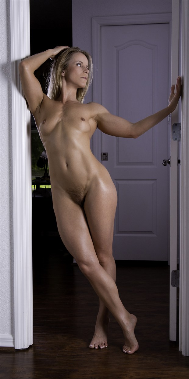 Artistic Physique in the doorway Artistic Nude Photo print by Photographer Chris Gursky