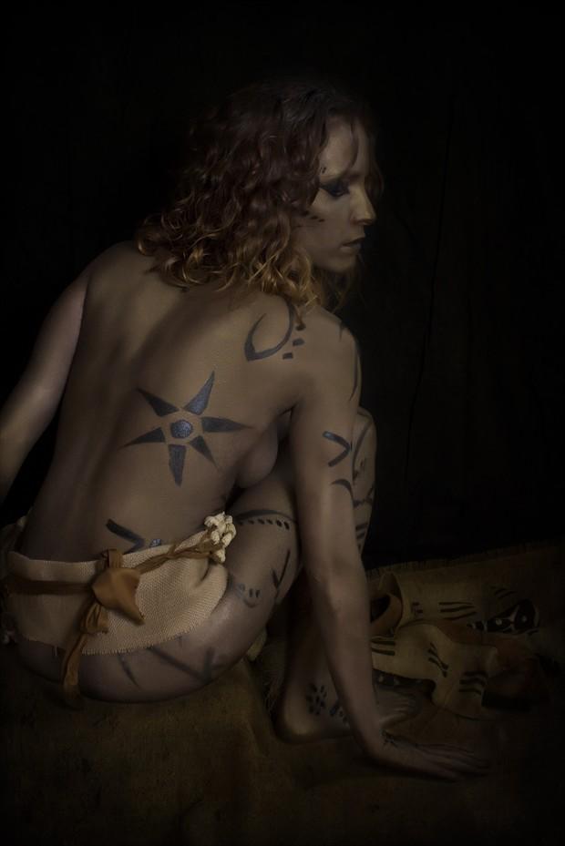 Ashante I Artistic Nude Photo print by Photographer Jos%C3%A9 M. Mendez