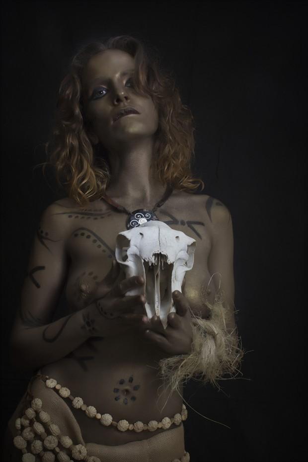 Ashante II Artistic Nude Photo print by Photographer Jos%C3%A9 M. Mendez