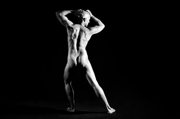 Askance Artistic Nude Photo print by Model Avid Light