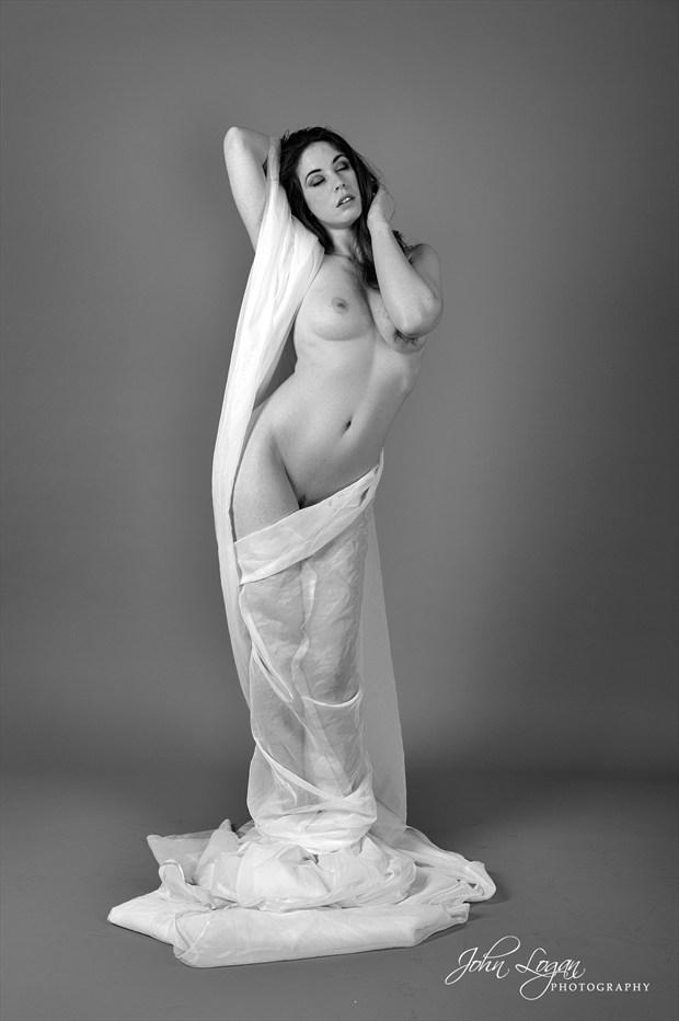 Athena Artistic Nude Photo print by Photographer John Logan